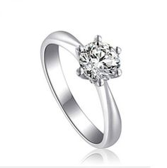 Cheap Engagement Rings Cz 23
