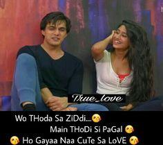 Ho hi gaya. Love Shayari Romantic, Love Romantic Poetry, Love Poetry Urdu, Romantic Love Quotes, Romantic Couples, Cute Couples, Love Quotes With Images, Sad Love Quotes, Girly Quotes