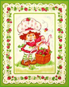 Strawberry shortcake vintage