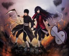 MADARA and OBITO _ on the front lines War on fate by Zetsuai89 on DeviantArt