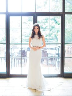 The Suite Life //  Gown from Lulu's Bridal. Hair + makeup by Randee Strand Artistry. Venue: Rosewood Mansion on Turtle Creek. Planner, stylist & florist: Tami Winn Events. Photo taken by Allen Tsai Photography. #bridesofnorthtx #bridal #bride #gown #wedding