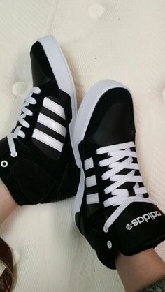 Adidas neo hightop women's shoes
