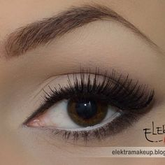 Love this eye makeup, very discreet but pretty when you notice it- Kasia Osinska this is how I would like my eyes