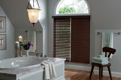 Woods & Faux Woods: Rich and warm look of wood venetian blinds can also be ordered in faux woods. Suitable for high humidity areas like washrooms or kitchen sinks. Also a great window coverings if you want to dress up your windows in a budget. Both real woods and faux woods are available from white to all the rich wood tones. http://www.windowinspirations.ca/