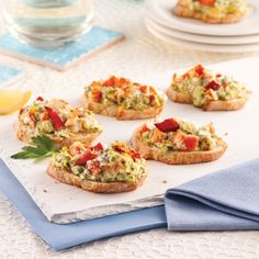 Tapas Recipes, Seafood Recipes, Great Recipes, Favorite Recipes, Confort Food, Wrap Sandwiches, Appetisers, Bruschetta, Finger Foods