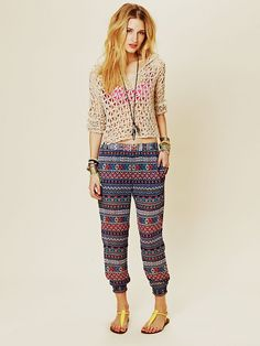 Free People Chiffon Trouser, $29.95