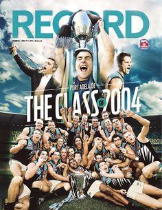 AFL Record Round 4 | Cover Design | Port Adelaide