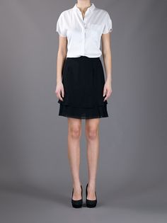 CHANEL VINTAGE - ruffle skirt from A.N.G.E.L.O. VINTAGE PALACE