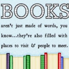 books aren't just made of words