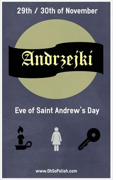 Andrzejki... Eve of Saint Andrew's Day. Polish Night of Magic and Fortune Telling!
