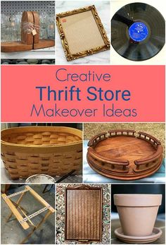 Creative ways to repurpose thrift store finds into home decor! Quick and Easy DIY earring holder out of aluminum sheet from hardware store and a thrift store frame. A great repurposing project for both hoops and studs! Thrift Store Art, Thrift Store Furniture, Thrift Store Shopping, Thrift Store Finds, Thrift Stores, Goodwill Finds, Diy Furniture, Upcycled Furniture, Furniture Makeover