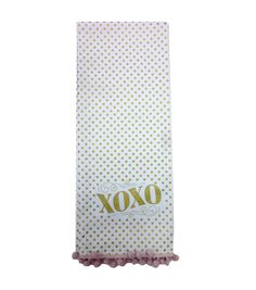 Valentine's Day Twill Hand Towel-Gold XOXO Valentine Gift Baskets, Valentine Gifts, Valentines Day, Online Craft Store, Craft Stores, Joann Fabrics, Hand Towels, Fabric Crafts, Scrapbook