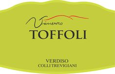 Verdiso - Toffoli #vino #wine #packaging #naming #design