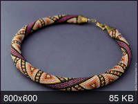 Узоры для вязаных жгутиков-шнуриков 13.   biser.info - всё о бисере и бисерном творчестве