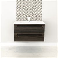 CUTLER Kitchen silhouette 30 in wqll hung vanity