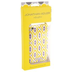 iPhone cover by Jonathan Adler. How have I missed this??