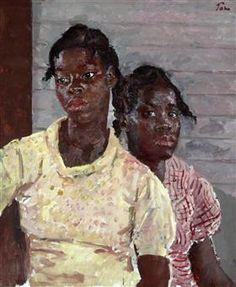 The Two Jamaican Girls - Augustus John