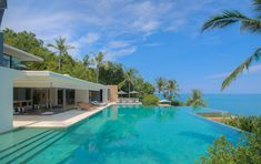 A fabulous 5-bedroom oceanfront retreat, complete with all the pleasures of luxury island living.