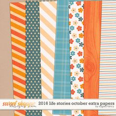 FREE 2016 Life Stories October Extra Papers BY Sugary Fancy