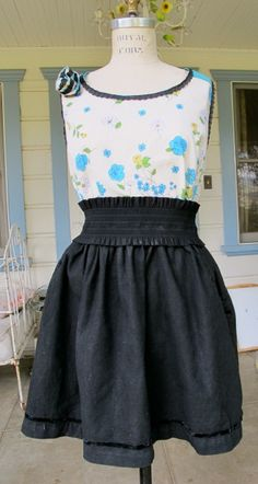 Sew Country Chick: Sewing, Crafts, and Vintage Style: Bias Rose Tutorial and sewing Simplicity 2599