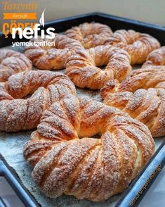 Turkish Recipes, Italian Recipes, Turkish Breakfast, Turkish Sweets, Cinnamon Butter, Delicious Desserts, Yummy Food, Fresh Fruits And Vegetables, Non Stick Pan