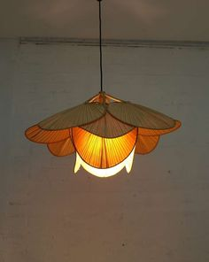 Ingo Maurer Bamboo Pendant Lamp Uchiwa at Diy Pendant Light, Chandelier Pendant Lights, Modern Chandelier, Pendant Lamp, Coastal Light Fixtures, Chandeliers, Restoration Hardware Paint, Earthy Home Decor, Bamboo Lamp