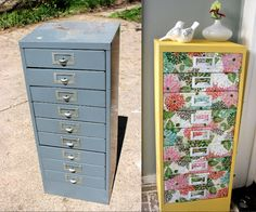 file cabinet before and after