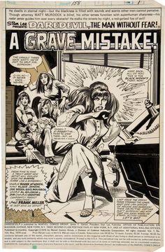 #Daredevil n. 158 chegou as bancas em 30/1/1979 [na capa, maio de 1979]. Foi a primeira edição de #FrankMiller na série. O gibi foi publicado no Brasil em #SuperaventurasMarvel #46, da editora Abril, em abril de 1986.