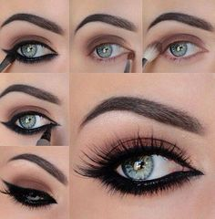 Beautiful Easy DIY Eye Makeup Ideas #Makeup #Trusper #Tip