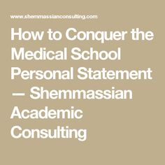 Separating the Best Medical School Personal Statements from the     Editing Services Example   Personal Statement   Medical Residency   Ob Gyn    IMG with