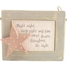 Night Night Sleep Tight...  Picture