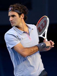 #Federer - Australian Open 2013 - Day 6  #tennis #ausopen    www.australianopen.com
