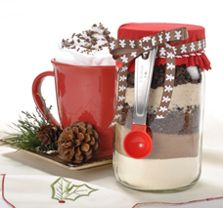Cappuccino in a jar