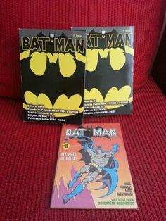 1a. série Batman da Editora Abril. Jul/84-Abr/85. 10 edições (1-10).