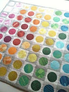 Circular Edges Mini Quilt   by Fresh Lemons : Faith