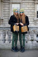 London Fashion Week February 2013 Street Style Photographs - Images | Marcus Dawes