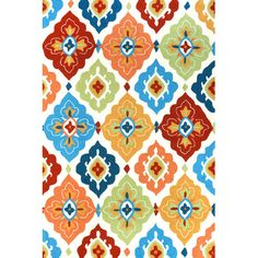 Let this stylish rug anchor your patio or veranda seating group, or simply set it in high-traffic areas like the entryway or mudroom.  ...
