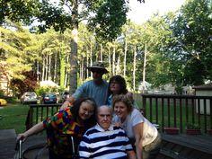 Brad, Terri, Shari, Dad and Kathy