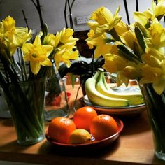 The First of March is always cut daffodils day in this household. (at Lewes, East Sussex) Daffodil Day, East Sussex, Daffodils, Photographs, Vegetables, Food, Photos, Essen, Vegetable Recipes