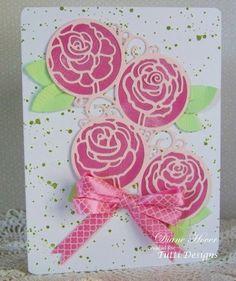 TUTTI-187 Swirly Rose Circles