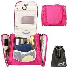6618fd1ca3 Amazon.com  Cadtog Hanging Toiletry Bag for Travel