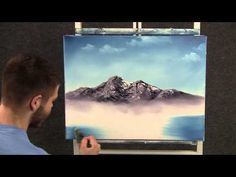 Paint with Kevin Hill - Peaceful Mountain Lake