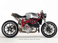Ducati 1098 Cafe Racer ~ Grease n Gasoline  http://www.facebook.com/hydrocarbons LIKE US   Ducati cafe racer, Ducati cafe racer for sale, Ducati 1098 Cafe Racer, Ducati motorcycles, Ducati sport 1000 for sale, Ducati sport classic for sale, Cafe racer for sale, Cafe racer tv,
