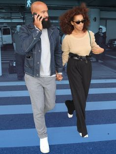 Solange Knowles and Alan Ferguson Are Your New Travel Style North Stars   GQ