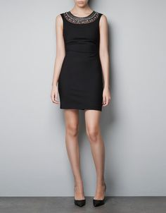 TUBE DRESS WITH NECKLACE - Dresses - TRF - ZARA United States