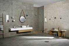 #mystone gris fleury   ceramic #stone   #ceramic #tiles   #flooring   #covering   #Marazzi
