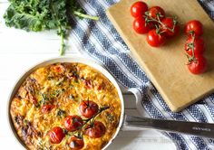 Healthy Low Carb Crustless Quiche - absolutely delicious! via Linda Wagner