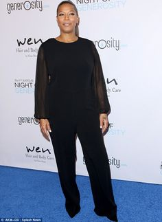 A royal pain: Queen Latifah - pictured at a gala in LA back in December - sold her nine-ac...