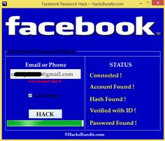 how to know facebook password