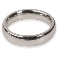 Titus Range: 50mm Donut C-Ring 15x8mm - Pierścienie, sondy, tunele  Pierścień erekcyjny pomagający utrzymać dłuższy i twardszy wzwódszy i dający większe uczucie stymulacji. Grubość pierścienia: 8mm, szerokośc ringu 15mm.  Wykonany ze stali nierdzewnej jakości medycznej.  Dostępny na www.tabu24.pl